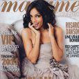 Rosario Dawson en couverture de l'édition du 24 décembre de Madame Figaro