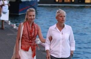 Portia de Rossi et Ellen DeGeneres toujours aussi in love sous le soleil !