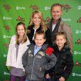 Candace Cameron Bure et sa famille à New York le 7décembre 2009.