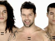 """Ricky Martin dévoile un clip gay friendly... très """"united colors"""" !"""