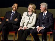 Barack Obama, Bill et Hillary Clinton : fou rire lors d'un hommage funèbre !