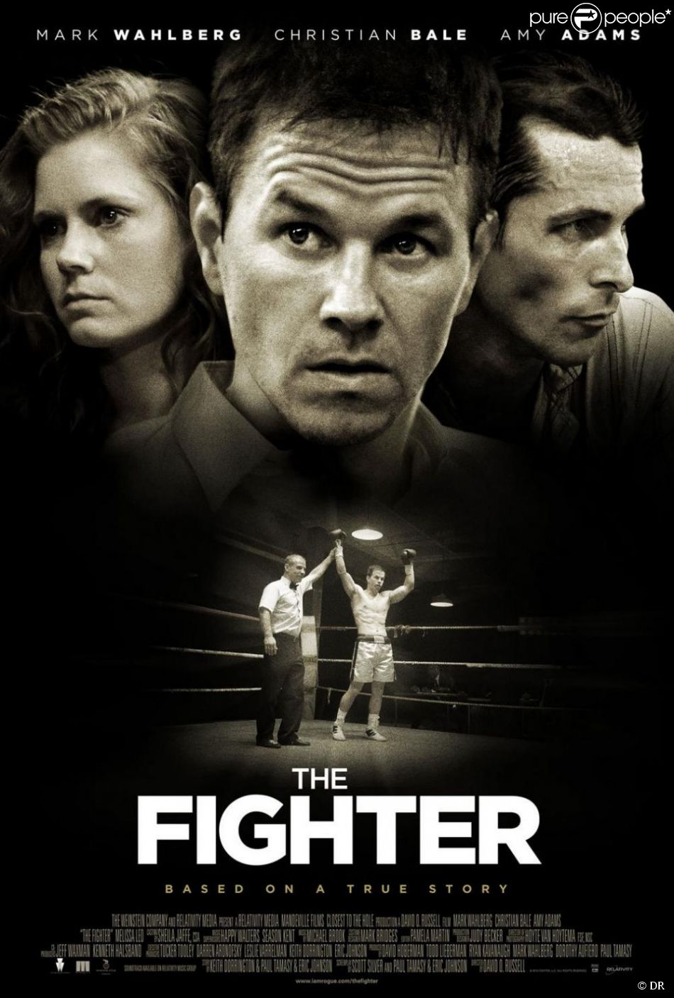l 39 affiche du film the fighter. Black Bedroom Furniture Sets. Home Design Ideas
