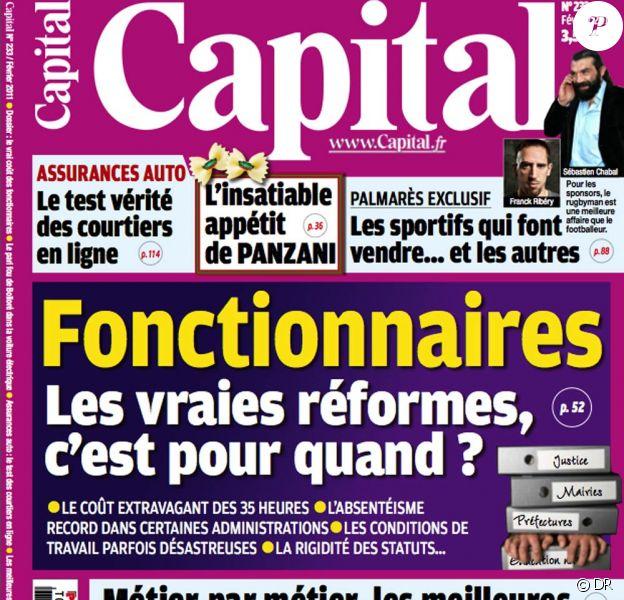 Le magazine Capital, avec le concours de l'institut BeMore, propose dans son numéro de février 2010 un palmarès des sportifs les plus efficaces en pub...