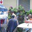 Nelson Mandela quitte la clinique de Milpark et retrouve son domicile, à Johannesburg, le 28 janvier 2011