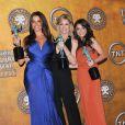 Sofia Vergara, Julie Bowen, Sarah Hyland, gagnante d'un Screen Actors Guild Awards à Los Angeles le 30 janvier 2011