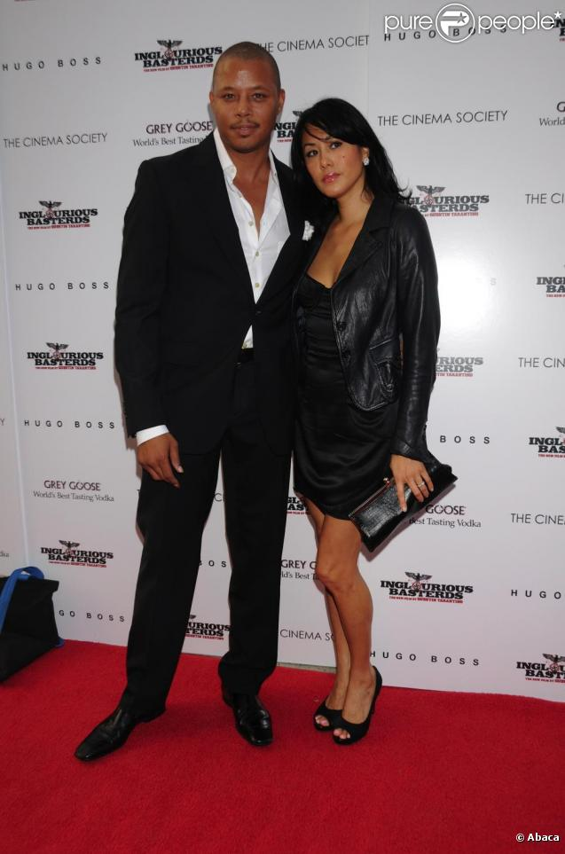 Terrence Howard et sa future ex-femme Michelle Ghent
