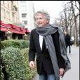 Roman Polanski, lors de son arrivée au Fouquet's, sur les Champs-Elysées, à Paris, pour le déjeuner des nominés des César 2011, le 5 février 2011.