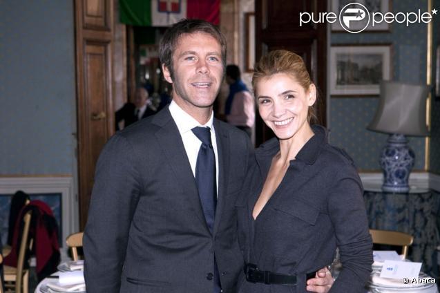 Clotilde Courau et Emmanuel Philibert de Savoie le 16 janvier 2011