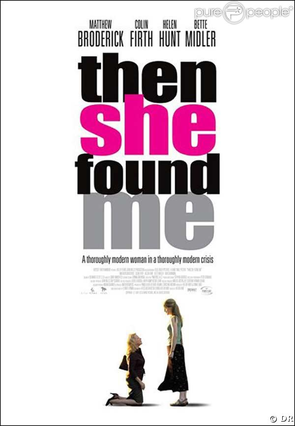Then she found me, affiche