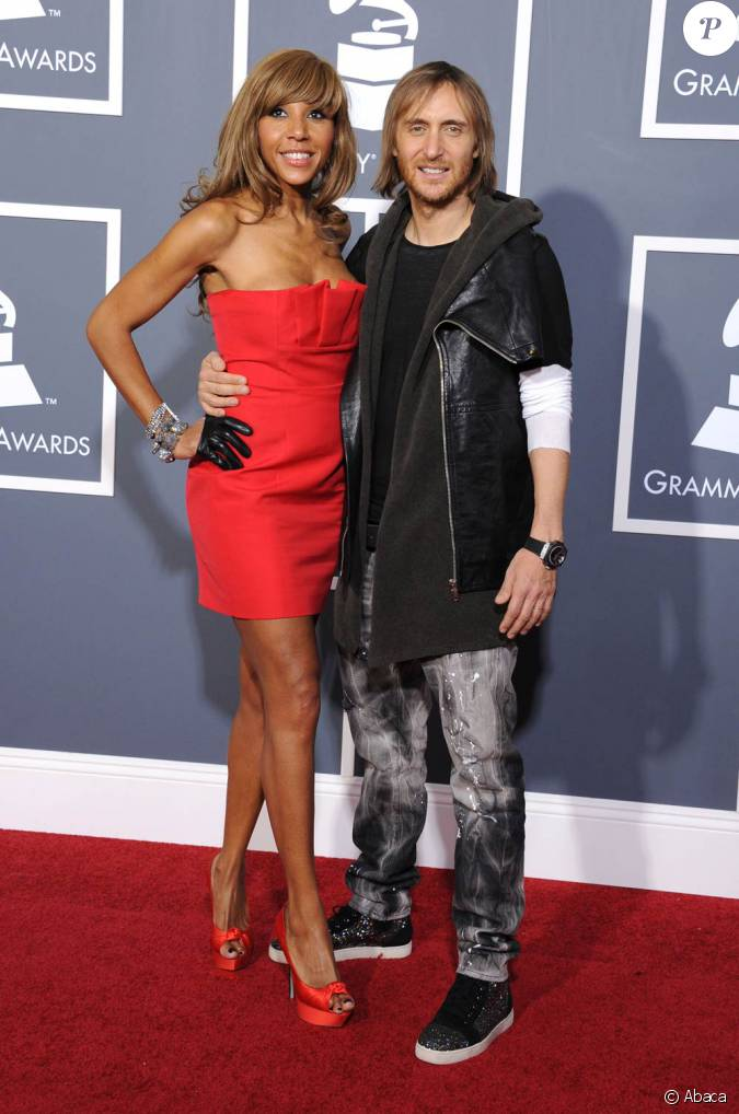 david et cathy guetta la c r monie des grammy awards le 13 f vrier 2011. Black Bedroom Furniture Sets. Home Design Ideas