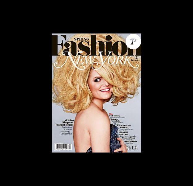 Jessica Simpson en couverture du New York Magazine