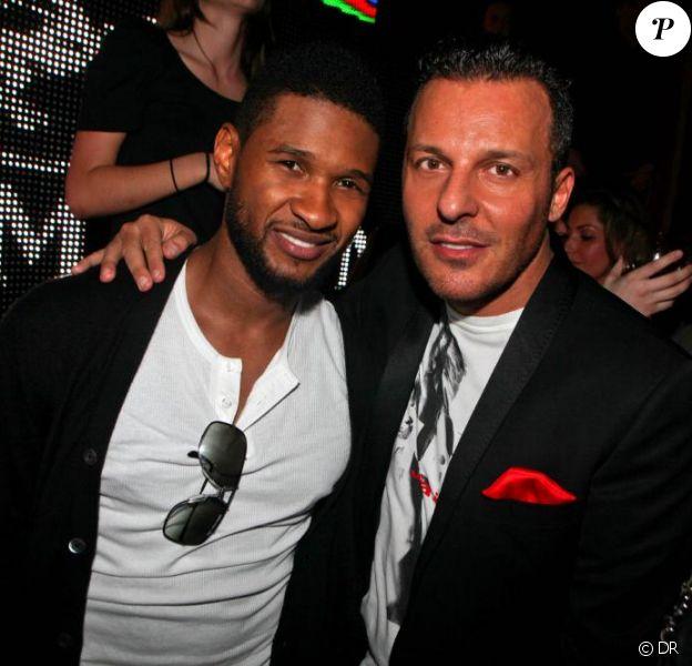Usher et Jean-Roch au VIP ROOM THEATER, le 15 février 2011