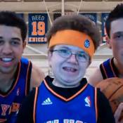 """Keenan Cahill : Le """"prince du buzz"""" vient d'être embauché par les NY Knicks !"""