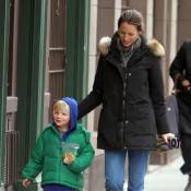 Christy Turlington : Le bout d'chou de l'ancien top est un vrai petit clown !