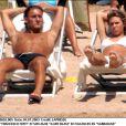 Ilary Blasi et Francesco Totti