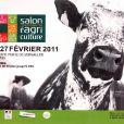 Affiche du Salon de l'Agriculture 2011