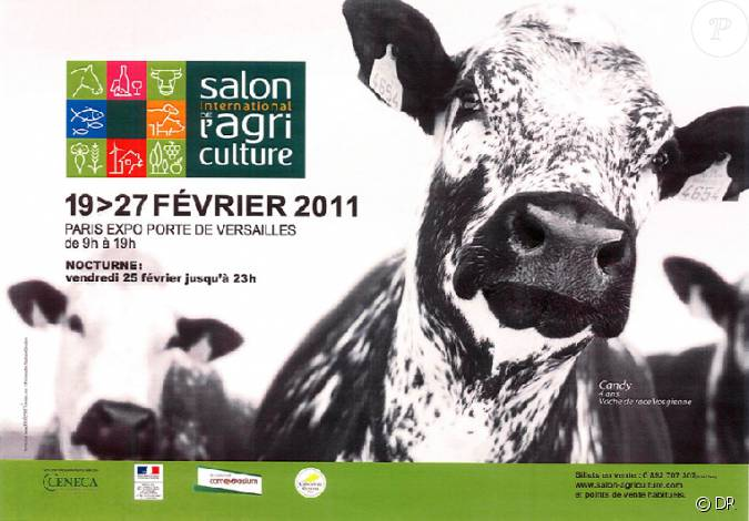 Affiche du salon de l 39 agriculture 2011 for Plan du salon de l agriculture