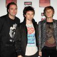 NME awards 2011, le 23 février à Londres : Matthew Bellamy et son groue Muse