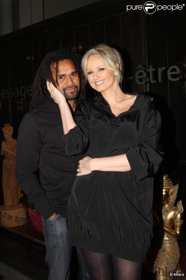 Christian et Adriana Karembeu