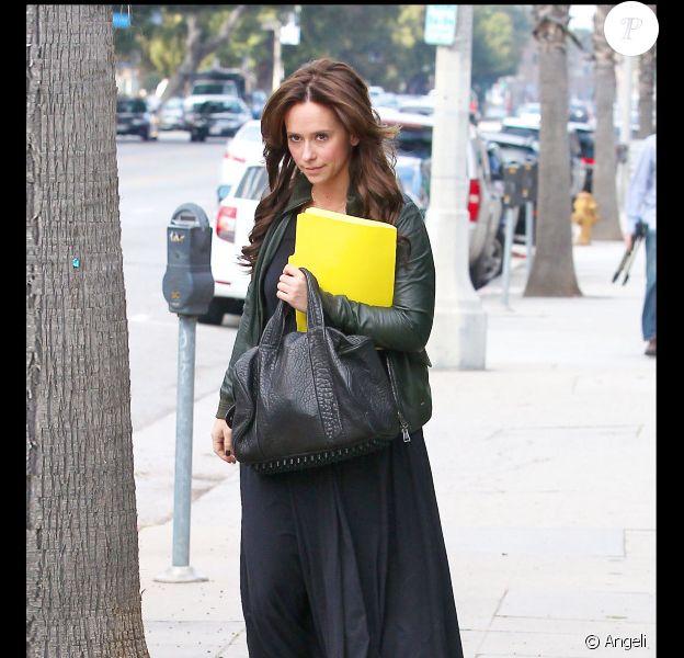 Jennifer Love Hewitt à Los Angeles, le 26 février 2011.