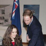 Kate Middleton, avec William et Harry, signe ses débuts dans l'émotion générale!