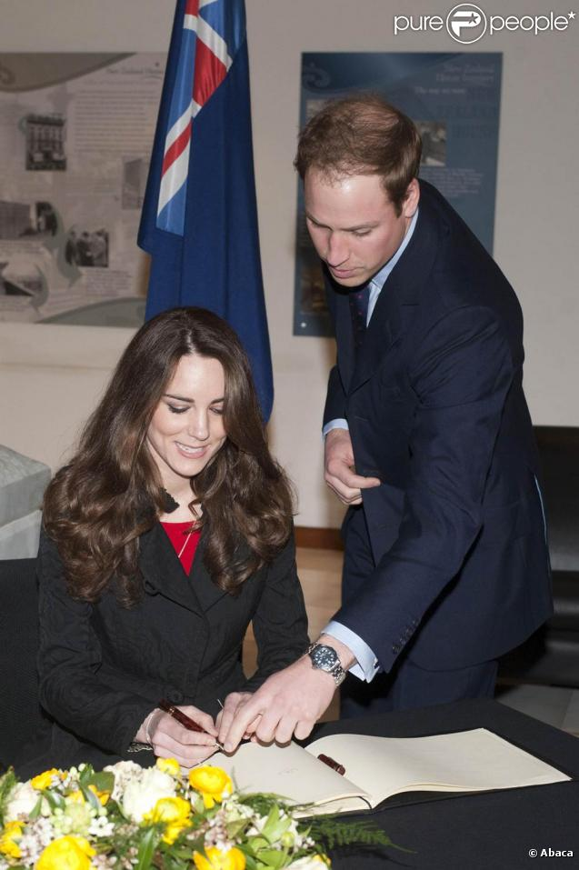 Prince William And Kate Middleton V S T New Zealand House