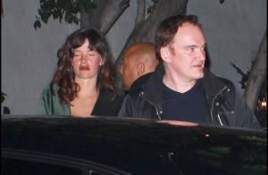 Quentin Tarantino : Ivre mort, il chute devant la belle Paz de la Huerta !