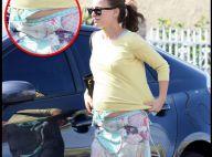 La superbe Natalie Portman, très enceinte, loin du glamour des Oscars !