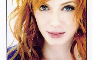 La belle Christina Hendricks de Mad Men :