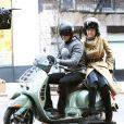 Michelle Pfeiffer et Zac Efron sur le tournage de  New Year's Eve , à Los Angeles, le 24 février 2011.