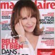 Nathalie Baye en couverture de Marie Claire