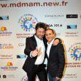 Georges Mallart et Faudel au Gala Main dans la main autour du Monde 2011, à Cassis le 5 mars 2011