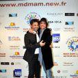 Georges Mallart et Nicolas Herman au Gala Main dans la main autour du Monde 2011, à Cassis le 5 mars 2011