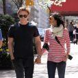 Daniel Craig et son ex-fiancée Satsuki Mitchel, New York le 4 avril 2010