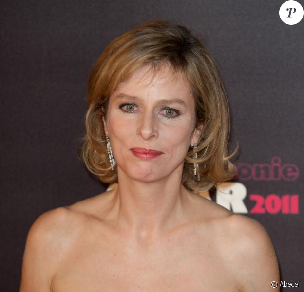 Karin Viard lors des César le 25 février 2011