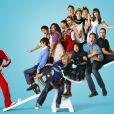 L'équipe de Glee au grand complet.
