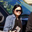 Demi Lovato, le 31 janvier 2011. Elle a donné un million de dollars de sa fortune personnelle pour aider les secours japonais