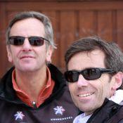 Bernard de la Villardière et David Pujadas... tout schuss pour l'Afrique du sud!