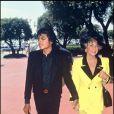 Elizabeth Taylor et Michael Jackson, le 23 juin 1987