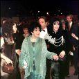 Elizabeth Taylor et Michael Jackson, Los Angeles, le 17 février 1997