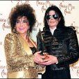 Elizabeth Taylor et Michael Jackson, American Music Awards, New York, le 4 décembre 1998