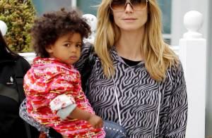 Heidi Klum : Aidée par sa mère, elle se consacre à ses quatre enfants !