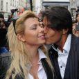 Les Viiip de Carré Viiip sont de sortie au Barrio Latino : cindy ert Giuseppe (30 mars 2011 à Paris)
