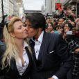 Les Viiip de Carré Viiip sont de sortie au Barrio Latino : Cindy et Giuseppe (30 mars 2011 à Paris)