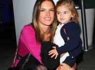 Alessandra Ambrosio : Sa fille Anja lui vole la vedette et joue déjà au top !