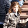 Sandra Bullock, sur le tournage du film  Extremely Loud and Incredibly Close , le 18 mars 2011 à New York.