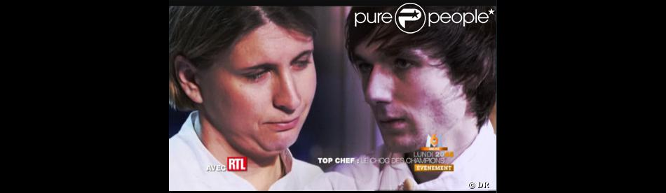 le duel entre st phanie le quellec et romain tischenko le 11 avril 2011 en direct sur m6. Black Bedroom Furniture Sets. Home Design Ideas