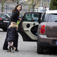 Le 13 avril 2011, à la veille du baptême de leurs jumeaux, la princesse Mary et son époux le prince Frédérik, avec leurs enfants Christian et Isabella, se sont rendus à l'église d'Holmen pour les ultimes répétitions.