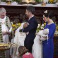 Le 14 avril 2011, le prince Frederik et la princesse Mary de Danemark ont fait baptiser leurs jumeaux Vincent et Joséphine à l'église protestante d'Holmen, à Copenhague. Les chérubins se prénomment Vincent et Josephine.