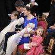 Le 14 avril 2011, le prince Frederik et la princesse Mary de Danemark  ont fait baptiser leurs jumeaux âgés de trois mois Vincent et Joséphine,  à l'église protestante d'Holmen, à Copenhague. Isabella et Christian, leurs deux grands, ont été parfaits !